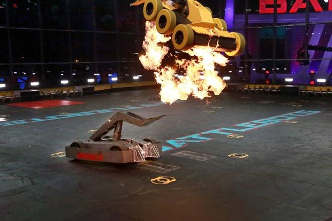 BattleBots back for a new season this spring!